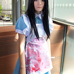 MCM Manchester Comic Con 2016, Cosplay, Cosplayer, Female, Alice, Alice In Wonderland, Alice Through The Looking Glass, American McGrees Alice, Alice Madness Returns, Skirt, Apron, Maid, Soc ...