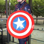 MCM Manchester Comic Con 2016, Cosplay, Cosplayers, Male, Female, Marvel Comics, Marvel, Comics, Film, TV, Video Games, The Avengers, Captain America, Winter Soldier, Armour, Jump Suit, Pant ...