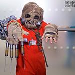 MCM Manchester Comic Con 2016, Cosplay, Cosplayer, Male, DC Comics, DC, Comics, Batman, New 52, Scarecrow, Villain, Dr Jonathan Crane, Biochemist, Arkham Asylum, Inmate, Jumpsuite, Mask, Gas ...