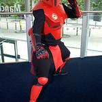 Mortal Kombat Sektor, Deadpool  MCM Manchester Comic Con 2016, Cosplay, Cosplayer, Male, Marvel, Marvel Comic, Midway Games, Film, Video Games, Comics, Mortal Kombat, Deadpool, Sektor, Mashu ...