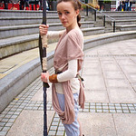 MCM Manchester Comic Con 2016, Cosplay, Cosplayer, Female, Star Wars Episode VII: The Force Awakens, Star Wars, Rey, Film, Video Games, Cartoon, Comics, Books, Fantasy, Sci-Fi, Jakku, Jedi,  ...