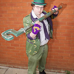 Cosplay, Cosplayer, Male, Manchester Summer Mini Con, DC Comics, Comics, TV, Film, Video Games, Batman, The Riddler, Suit, Shirt, Pants, Tie, Jacket, Gloves, Boots, Bowler Hat, Walking Cane, ...