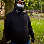 NW Cosplay Halloween Meet 2016, Cosplay, Cosplayer, Male, Anime, Manga, Video Game, Comics, Villain, Death, Grim Reaper, Mask, Goggles, Hat, Jacket, Hoodie, Jeans, Boots, Gloves, Park, Trees ...