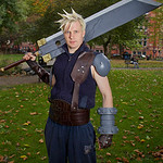 NW Cosplay Halloween Meet 2016, Cosplay, Cosplayer, Male, Role Play Game, Japanese Role Play Game, JRPG, Final Fantasy VII, Playstation, PC, Windows, Hero, Cloud, Soldier, Shinra, Midgar, Ni ...