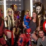 Salford Comic Con 2017, Cosplay, Male, Female, Man, Women, Marvel, Deapool, Captain America, Spider-Man, Ms Marvel, Marvel, Marvel Comics, Films, Movies, Comics, Video Games, Cartoon, Leotar ...