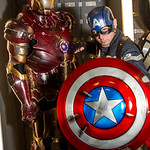 America, Amor, Avengers, Black, Blue, Body Amour, Boots, Captain America, Cartoons, Comics, Cosplay, Cosplayer, Films, Iron Man, Leather, Male, Man, Marvel, Marvel Comics, Mask, Movies, Red, ...