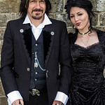 Belt, Coat, Corset, Couple, Dress, Female, Goth, Gothic, Jacket, Male, Man, Necklace, Pants, Rings, Shirt, Skirt, Top, Waist Coat, Walking Cane, WGW, Whitby, Whitby Gothic Weekend, Whitby Go ...